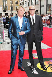 © Licensed to London News Pictures. 01/07/2013. London, UK. Rick Parfitt; Francis Rossi , Bula Quo UK film premiere, Odeon West End cinema Leicester Square, London. Photo credit: Richard Goldschmidt/LNP