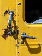 Rusted Kenworth truck detail, Loveland CO