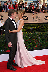 January 29, 2017 - Los Angeles, California, United States - William H. Macy, left, and Felicity Huffman on the red carpet at 23rd Annual Screen Actors Guild Awards  at The Shrine Expo Hall in Los Angeles on Sunday, January 29, 2017. (Credit Image: © John Mccoy/Los Angeles Daily News via ZUMA Wire)