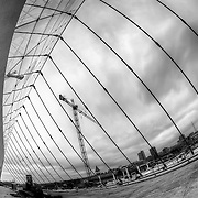 The Kauffman Center for the Performing Arts under construction on April 19, 2011.