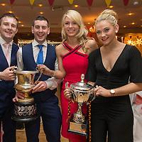 Miltown Malbay Footballers Seanie Malone and Enda O'Gorman with Orla Cullinan and Ladies Footballer Orla Flanagan