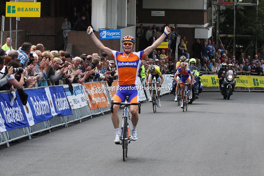 Sportfoto archief 2012<br /> Nederlands Kampioenschap Kerkrade beloften. Moreno Hofland pakt de titel