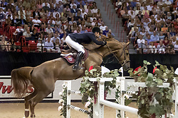 Pessoa Rodrigo, BRA, Baloubet du Rouet<br /> World Cup Final Jumping - Las Vegas 2000<br /> © Hippo Foto - Dirk Caremans