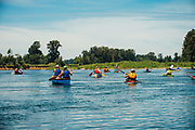 Pinot Paddle on the Willamette