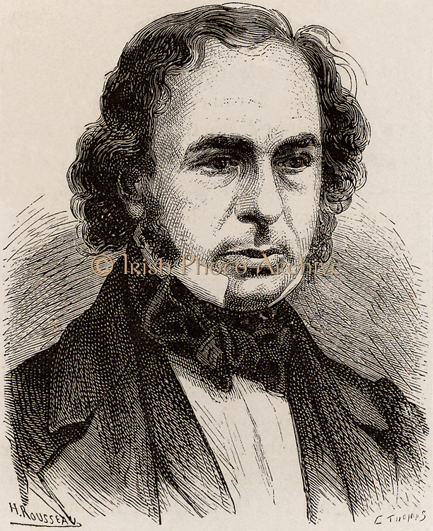 Sambaed Kingdom Brunel (1806-1859) English engineer and inventor, c1870. From 'Les Merveilles de la Science' by Louis Figuier. (London, c1870).