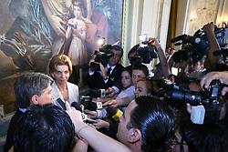 A governadora eleita do Rio Grande do Sul, Yeda Crusius faz sua primeira visita ao Palácio Piratini após a eleição para audiência com o atual governador Germano Rigotto.FOTO: Jefferson Bernardes/Preview.com