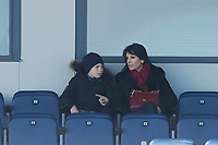 Zinedine Zidane´s wife Veronique Zidane during his first training session as Real Madrid´s new coach at Real Madrid Ciudad Deportiva in Madrid, Spain. January 05, 2016. (ALTERPHOTOS/Victor Blanco)