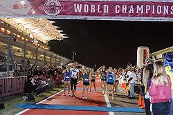 Beer Mile World Championships, Inaugural, Women's Elite race, chugging