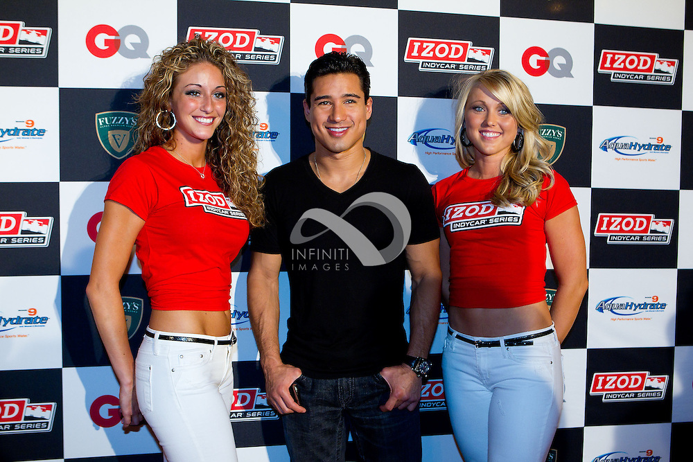 Mario Lopez seen at the Fantasy 500 party in Indianapolis, Indiana. Photo by Michael Hickey, Infiniti Images Corporate event photography by Infiniti Images