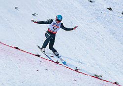 20.01.2018, Heini Klopfer Skiflugschanze, Oberstdorf, GER, FIS Skiflug Weltmeisterschaft, Einzelbewerb, im Bild Denis Kornilov (RUS) // Denis Kornilov of Russian Federation during individual competition of the FIS Ski Flying World Championships at the Heini-Klopfer Skiflying Hill in Oberstdorf, Germany on 2018/01/20. EXPA Pictures © 2018, PhotoCredit: EXPA/ JFK