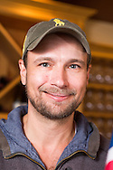 Dag Johan Sundby i sin vingård Johan Vineyards, Oregon, USA