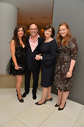 Left to right, ANNE-MARIE STERPINI, GREGG WALLACE, CHERIE BLAIR and her daughter KATHRYN BLAIR at a pre party for the English National Ballet's Christmas performance of The Nutcracker was held at the St.Martin's Lane Hotel, St.Martin's Lane, London on 12th December 2013.