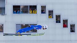 31.12.2017, Olympiaschanze, Garmisch Partenkirchen, GER, FIS Weltcup Ski Sprung, Vierschanzentournee, Garmisch Partenkirchen, Training, im Bild Junshiro Kobayashi (JPN) // Junshiro Kobayashi of Japan during his Practice Jump for the Four Hills Tournament of FIS Ski Jumping World Cup at the Olympiaschanze in Garmisch Partenkirchen, Germany on 2017/12/31. EXPA Pictures © 2017, PhotoCredit: EXPA/ Jakob Gruber