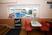 Inside a transport cafe on the 17th June 2008 in Blackmore Vale in the United Kingdom.