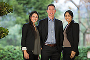 Dr. Rabitz, Pediatric Dentistry associates pose for their headshot at the California Cafe in Los Gatos, California, on December 19, 2014. (Stan Olszewski/SOSKIphoto)