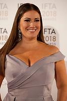 Elaine Crowley at the IFTA Film & Drama Awards (The Irish Film & Television Academy) at the Mansion House in Dublin, Ireland, Thursday 15th February 2018. Photographer: Doreen Kennedy