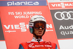 Gregor Deschwanden during the Ski Flying Hill Men's Team Competition at Day 3 of FIS Ski Jumping World Cup Final 2017, on March 25, 2017 in Planica, Slovenia. Photo by Grega Valancic / Sportida