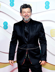 Andy Serkis attending the 73rd British Academy Film Awards held at the Royal Albert Hall, London.