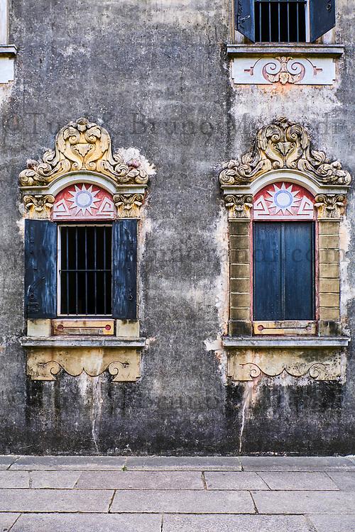 Chine, Province de Guangdong, Kaiping, patrimoine mondial de l'Unesco, village de Majianglong, les Diaolou sont des tours fortifiées // China, Guangdong, Kaiping, Unesco World Heritage, Majianglong village, the Diaolou are multi storey watchtowers