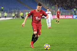 December 16, 2017 - Rome, Italy - Stephan El Shaarawy during the Italian Serie A football match between A.S. Roma and Cagliari at the Olympic Stadium in Rome, on december 16, 2017. (Credit Image: © Silvia Lore/NurPhoto via ZUMA Press)