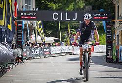 Naglic Rok of Calcit Bike Team during the race of XCO National Championship of Slovenia 2021 on 27.06.2021 in Kamnik, Slovenia. Photo by Urban Meglič / Sportida
