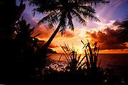 Sunset, Hanalei Bay, Kauai, Hawaii