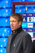 Graham Potter head coach of Brighton & Hove Albion during the Premier League match between Leeds United and Brighton and Hove Albion at Elland Road, Leeds, England on 16 January 2021.