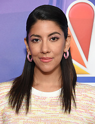 February 20, 2019 - Hollywood, California, U.S. - Stephanie Beatriz on the carpet at the NBCUniversal Mid Season Press Junket at Universal Studios. (Credit Image: © Lisa O'Connor/ZUMA Wire)