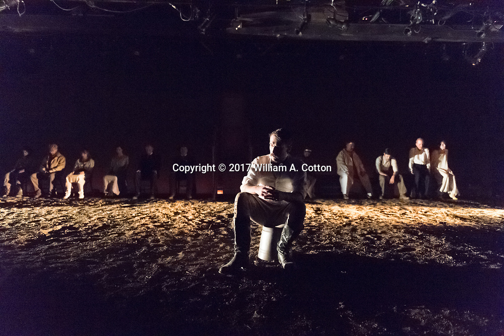 "The Bas Bleu Theatre Company rehearses its production of ""Elephant's Graveyard,"" September 6, 2017."
