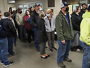 Voters in Central Pennsylvania's Union Precinct Polling Station experienced two hour or more waits. Once they entered the building, there was limited social distancing and many people were not wearing masks.