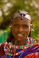 Maasai warrior, Amboseli National Park, Kenya
