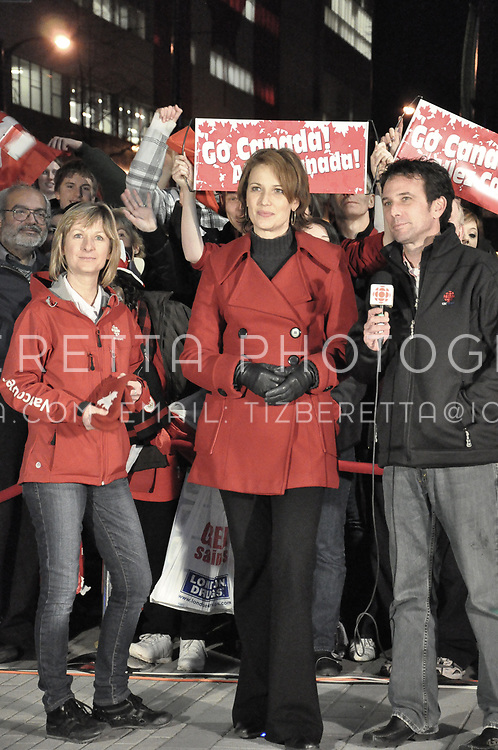 CBC Vancouver News Team (from left to right). Claire Martin, Gloria Macarenko, Shane Foxman