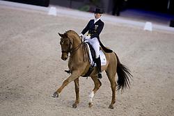 Lutkemeier Fabienne, (GER), D Agostino 5<br /> Indoor Brabant - Den Bosch 2017<br /> © Hippo Foto - Dirk Caremans<br /> 10/03/2017