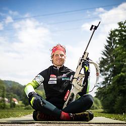 20200513: SLO, Biathlon - Portrait of Klemen Bauer