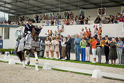 Jurado Lopez Severo, ESP, Helgstrand Andreas, DEN, <br /> WK Ermelo 2019<br /> © Hippo Foto - Sharon Vandeput<br /> 4/08/19