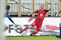 Fotball<br /> 02.09.2018<br /> Eliteserien<br /> Brann Stadion<br /> Brann - Ranheim<br /> Taijo Teniste (R) , Brann<br /> Foto: Astrid M. Nordhaug