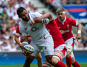Twickenham, Surrey, World Cup, Sunday, 11.08.19, Englands Man of the Match,, Billy VUNIPOLA, playing in the Warm up match, Quilter International, England vs Wales, at the RFU Stadium  [© Peter SPURRIER/Intersport Image]<br /> <br /> 14:04:27