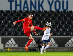 SWANSEA, WALES - Thursday, November 12, 2020: Wales' Dylan Levitt during an International Friendly match between Wales and the USA at the Liberty Stadium. (Pic by David Rawcliffe/Propaganda)