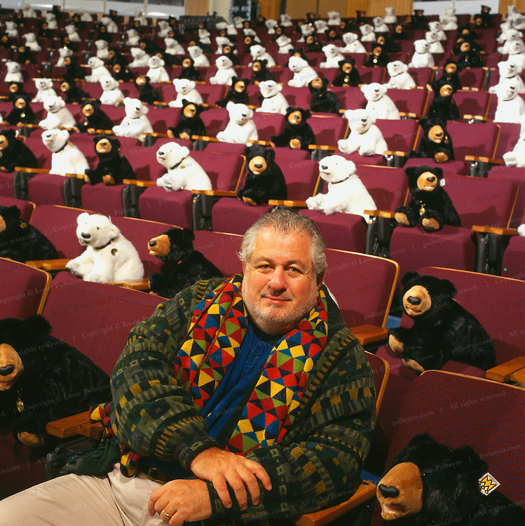 Richard Saul Wurman is a designer and organizer of the TED conference in Monterey, an assemblage of wild and unpredictable intellectuals, entrepreneurs, free-thinkers and movers and shakers.  Teddy Bears are his mascot.