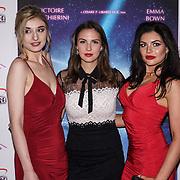 London, England, UK. 14th September 2017.Cast Victoire Vecchierini,Veronica Osimani,Joanna Leigh Hewitt attend the Landing Lake Film Premiere at Empire Haymarket,London, UK.