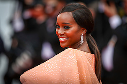 Aja Naomi King attends the screening of A Hidden Life (Une Vie Cachee) during the 72nd annual Cannes Film Festival on May 19, 2019 in Cannes, France. Photo by Shootpix/ABACAPRESS.COM