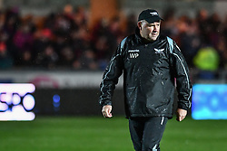 Scarlets' Head Coach Wayne Pivac during the pre match warm up - Mandatory by-line: Craig Thomas/Replay images - 26/12/2017 - RUGBY - Parc y Scarlets - Llanelli, Wales - Scarlets v Ospreys - Guinness Pro 14
