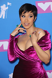 August 20, 2018 - New York, New York, U.S. - CARDI B at the 2018 MTV Video Music Awards at Radio City Music Hall in New York City. (Credit Image: © Starmax/Newscom via ZUMA Press)