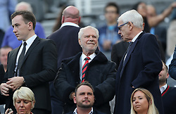 West Ham United co-owner David Gold during the Premier League match at St James' Park, Newcastle.