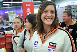 Petra Robnik at press conference of Slovenian men and women alpine skiing national team before new season 2008/2009 in Hervis, City park, BTC, Ljubljana, Slovenia, on October 20, 2008.  (Photo by: Vid Ponikvar / Sportal Images)