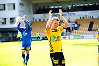 Fotball , Eliteserien , Tippeligaen , Søndag 20. mai 2013<br /> LSK - FK Haugesund<br /> Erling Knudtzon og Nils Kenneth Udjus etter kampen <br /> Foto: Sjur Stølen , Digitalsport