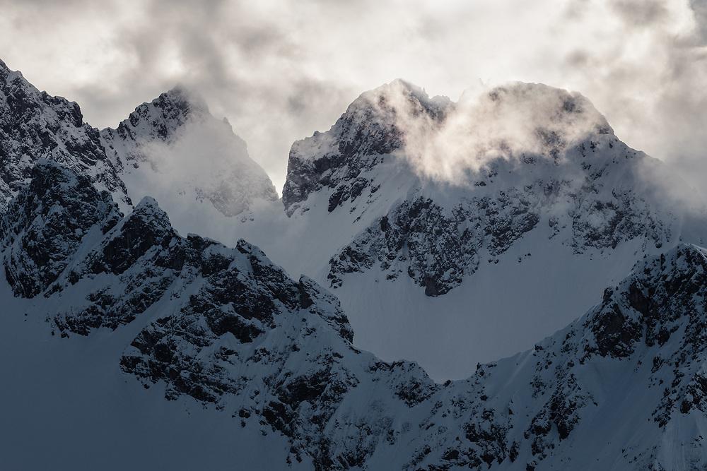 Skitour auf den Tajakopf in den Mieminger Bergen
