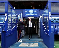 Burnley Manager Sean Dyche arrives at Loftus Road for his sides game against QPR - Mandatory byline: Robbie Stephenson/JMP - 12/12/2015 - Football - Loftus Road - London, England - Queens Park Rangers v Burnley  - Sky Bet Championship