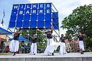 Wilkes-Barre, PA (July 11, 2020) -- The Mt. Zion Abundant Praise Dancers perform at the Black Lives Matter NEPA United Movement event at Wilkes-Barre Public Square.