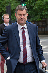 © Licensed to London News Pictures. 09/09/2019. London, UK. MP for South West Hertfordshire David Gauke arrives at the Houses of Parliament. This morning Prime Minister Boris Johnson will visit Ireland.  Photo credit: George Cracknell Wright/LNP